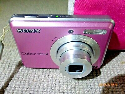 Sony Cyber-shot DSC-S930 10.1MP Digital Camera in Pink