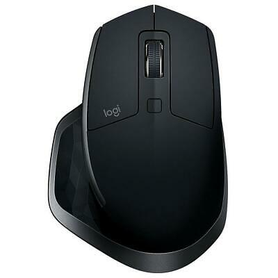 Logitech MX Master 2S Wireless Mouse Graphite Darkfield High Precision Bluetooth