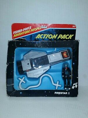 Fisher Price Toys Adventure People FIRESTAR 357 With Box 1979