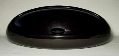 ALESSI ~ Awesome Long Black & Oval BREAD BOX (BIN) S.Giovannoni/E.Gargan ~ Italy