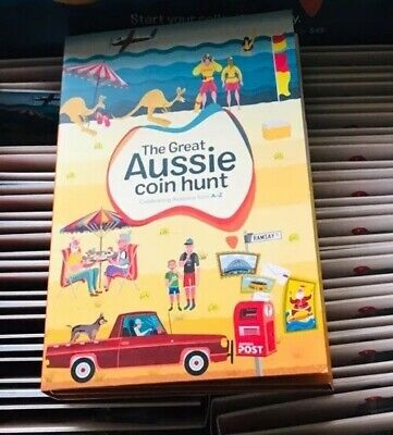 Clearance 2019 GREAT AUSSIE $1 COIN HUNT ALBUM FOLDER New Freight Free
