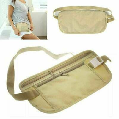 Waist Belt Bag Travel Pouch Hidden ID Passport Security Money Compact Safety