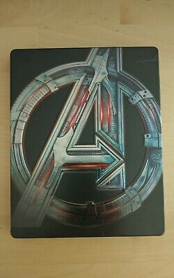 Avengers: Age of Ultron Steelbook Blu Ray + DVD Best Buy Exclusive Vision Cover