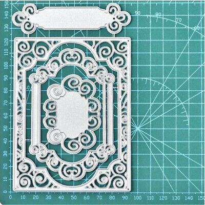 lace frame Metal Cutting Dies Stencil For Scrapbooking DIY Card Photo Embossing
