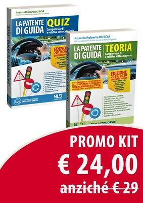 Kit Patente Di Guida. Manuale e Quiz Teorico. Categorie A E B ESottocategorie