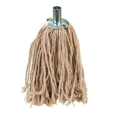 Traditional 4 Ply Socket Mop Head Unbleached Cotton-Mix General Cleaning S509117