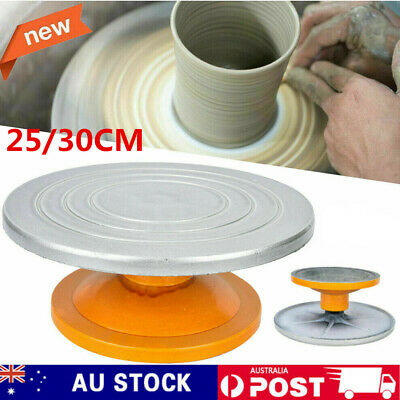 Pottery Banding Wheel Potters Turntable Turnplate Clay Tool Basin Foot Pedal