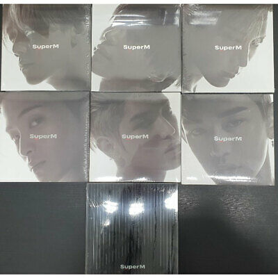 SUPERM - SUPERM 1st Mini Album Member Select CD PhotoBook PhotoCard Poster