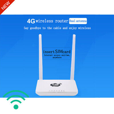 WiFi drahtloser Router 4G LTE 300Mbps Home WLAN wireless Router CPE