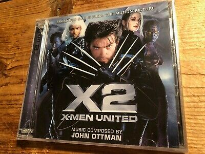 X2: X-MEN UNITED (John Ottman) OOP La-La Ltd Score OST Soundtrack 2CD SEALED