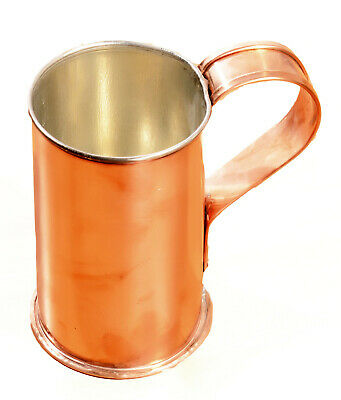 BRAND NEW Jacob Bromwell Collector's Cup Beer Mug Made in the USA PURE Copper