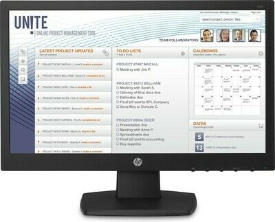 HP  V197 monitor piatto per PC 47 cm 18.5 WXGA Nero V5J61ATABB