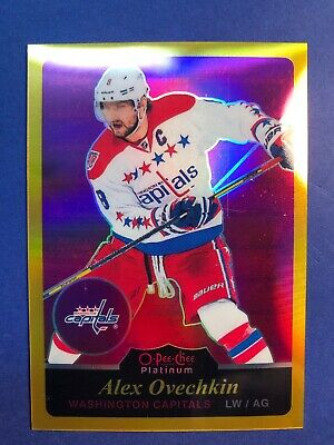 2015-16 OPC Platinum Retro Gold Rainbow #R23 Alex Ovechkin 089/149 Washington SP