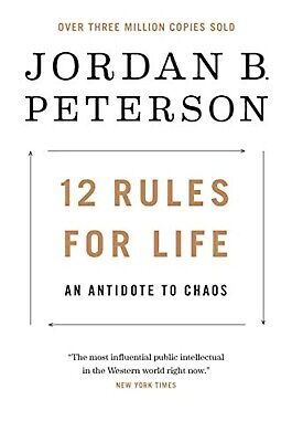 12 Rules for Life: An Antidote to Chaos By Jordan B. Peterson Hardcover English
