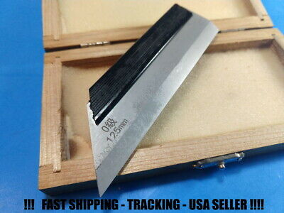 Straight Edge Ruler Machinist Layout Tool Lineal Carbon Steal 125mm