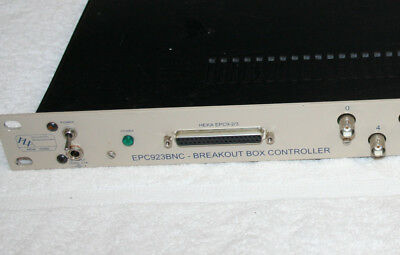 HEKA Scientific Breakout Box Controller EPC923BNC