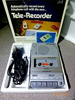 Geemarc Cassette Recorder, MINT, Used Twice From New, Takes Ordinary Cassettes
