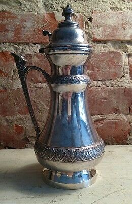 Vintage Victorian Syrup Pitcher Silverplate