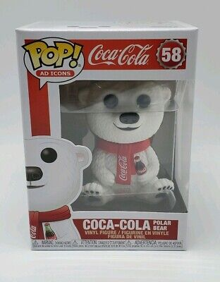 Funko Pop! Coca-Cola Polar Bear Ad Icons #58 NEW IN STOCK!