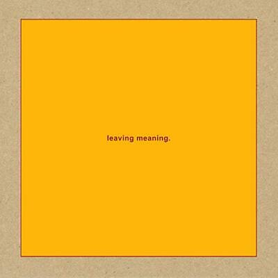 Swans Cd - Leaving Meaning [2 Discs](2019) - New Unopened - Rock