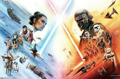STAR WARS - RISE OF SKYWALKER - FACE OFF POSTER - 22x34 - MOVIE 17635