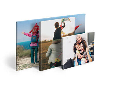 Your Personalised Photo on A5 Ready to Hang Canvas Print - Framed Large Box