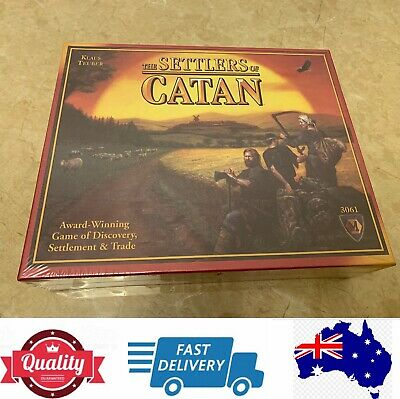 Settlers Of Catan Board Game 4th Edition, Classic And Fantastic, AU Stock