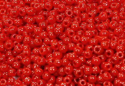 10g Opaque Pepper Red TOHO Seed Beads Japanese 11//0-45