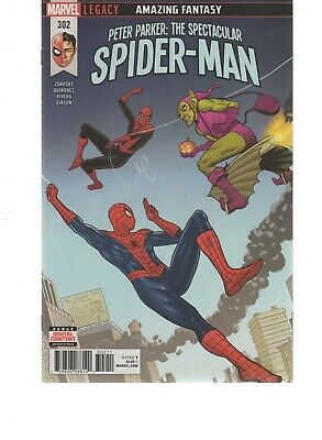 Peter Parker The Spectacular Spiderman 302 ( 2017 Series ) Marvel Legacy Comics