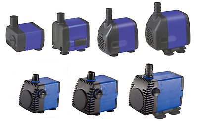Submersible Aquarium Water Pump Fish Tank Powerhead Fountain Hydroponics Ponds