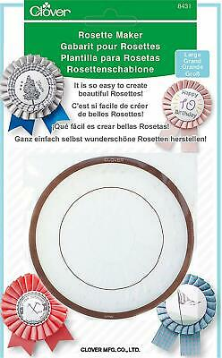 Clover Rosette Maker - Re- usable Pleated Ribbon template Large or Small  Size