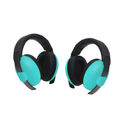2xChild Kids Noise Earmuffs Defenders Noise Reduction Protectors Muff Green