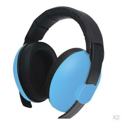 2xChild Kids Noise Earmuffs Defenders Noise Reduction Protectors Muff Blue