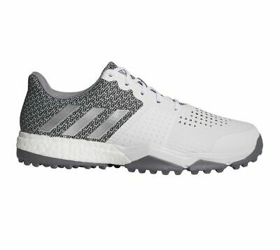 NEW Adidas Mens Adipower Sport Boost 3 Golf Shoes White / silver AC8306 sz 10 WD