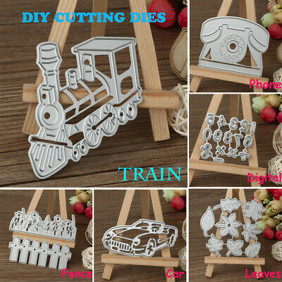 DIY Metal Cutting Dies Stencil Scrapbooking Embossing Album Paper Card Craft US