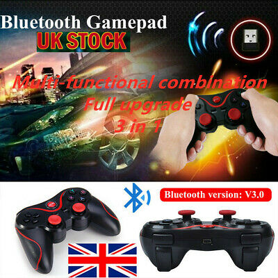 Wireless Bluetooth Gamepad Game Controller Remote For Android IOS Phone PC UK
