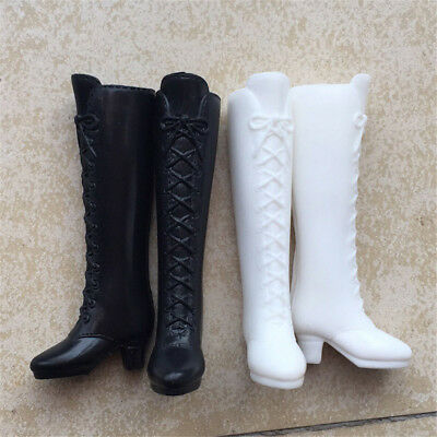 Long Boot Casual High Heels Cute Shoes Clothes For  Doll Dress Accessory AU