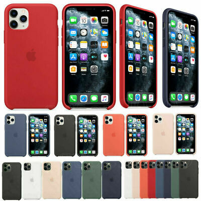 Case For Apple iPhone 11,11 Pro,11 Pro Max Genuine Liquid SILICONE Rubber Cover