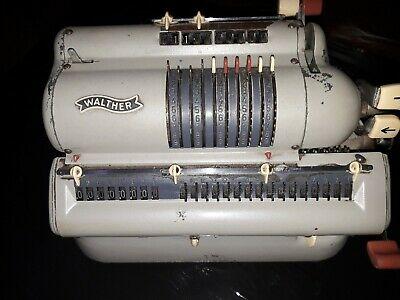 Mechanical calculator WALTHER