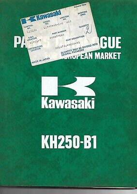 KAWASAKI parts list KH250-B1 parts catalogue catalogue pieces détachée