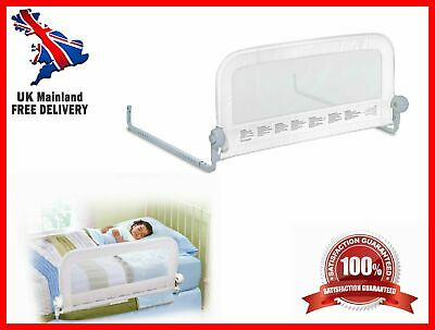 New Grow With Me Single Bed Rail White- Accomodates Mattresses Cot Bed 70cm,90cm