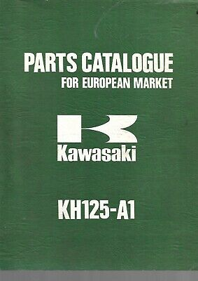 KAWASAKI parts list KH125A1 parts catalogue catalogue pieces détachées