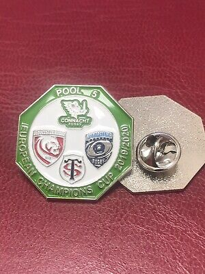 European Champions Rugby Pool 5 Pin Badge