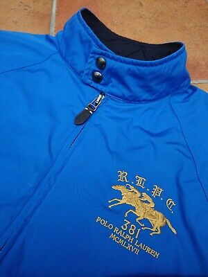 GORGEOUS Ralph Lauren Royal Blue light/midweight breathable Jacket Large Mens