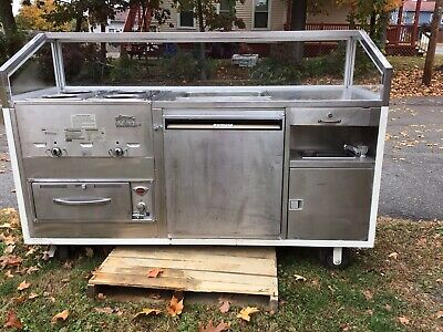 Waymatic Food Truck Or Food Trailer Equipment Steam Warmer,Sink,Refrigerator