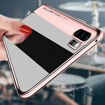 For Samsung Note 10 Plus Note 10 Plating Clear Soft Rubber Ultra Slim Case Cover