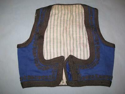 Antique Old Traditional Folk Ethno Handmade Serbian Women's Vest EMBROIDERY