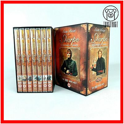 Sharpe The Complete Series 14 Disc DVD Box Set 2005 Sean Bean Region 2 R1