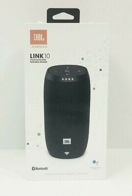JBL Link 10 Voice Activated Smart Bluetooth Speaker (Factory Sealed)