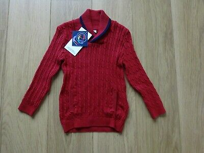 Bnwt - Marks & Spencer Boy's Cotton Jumper Age 2-3 Years